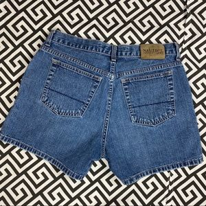 Vintage •NAUTICA• low rise shorts 8 blue